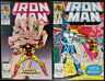 Iron Man #241-242 (1989, Marvel) 2-Part Mandarin Story Set Bob Layton Michelinie