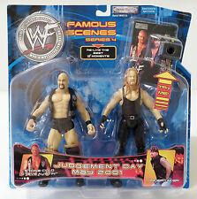WWF famoso escenas: Piedra Fría Steve Austin & servicios funerarios Set Figuras De Acción