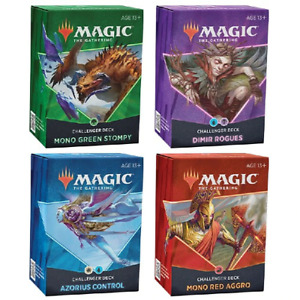 Magic The Gathering CCG: Challenger Deck 2021 [set of 4]