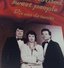 ALAIN MORISOD & SWEET PEOPLE Tape Cassette 10 ANS DE SUCCES 1987 KOSX5-205/6