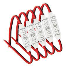 5x 12V Wired Control Module w/ Strobe Flash For Car / Household LED Strip /Bulbs