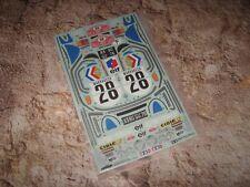 RC Tamiya Alpine A110 Decal Sheet M02 M05Ra M06 New