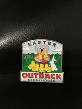 Outback Steakhouse hat lapel pin~ Easter 2003 ~Vintage Collectible