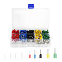 1640pcs/Set Wire End Terminal Bootlace Ferrule 4.0-0.5mm2 Insulated Cable Lugs