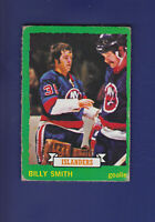 Billy Smith RC 1973-74 O-PEE-CHEE Hockey #142 (VG) New York Islanders