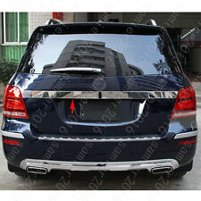 Stainless Steel Rear Trunk Lid Pad trim For Mercedes-Benz GLK Class X204 09-2015
