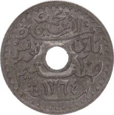 O124 Tunisie 20 centimes Muhammad Al-Amin Protectorat Français 1945 SUP -> Faire