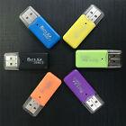 Hot Mini USB SD/MMC Memory Card Reader 480Mbps For Computer Laptop USB Card ATAU