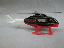 Sheriff Rescue Helicopter black Unit 541 New Die-Cast Matchbox
