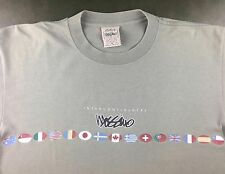 Vintage Mens M 90s Authentic Mossimo Limited Edition Intercontinental T-Shirt