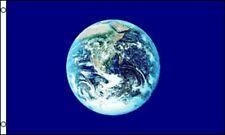3x5 Earth Globe Flag House banner grommets Super polyester