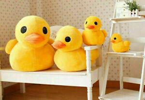 12 Inch Yellow Rubber Duck Plush Toy Stuffed Animal Cushion Soft Pillow Doll AU