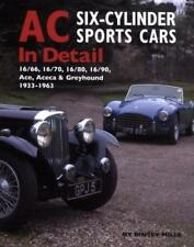 AC 6-Cylinder Sports Cars (Ace Bristol Aceca Greyhound 16/66/70/80/90) Buch book
