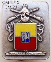 """Esercito Italiano Fanteria """"Con l'Ardire la Gloria"""" distintivo produttore Labor"""
