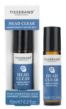 Tisserand HEAD CLEAR Aromatherapy Pulse Point Essential Oil ROLLER BALL 10ml