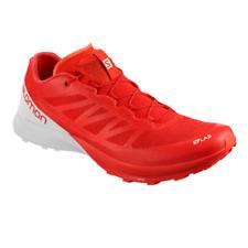 Salomon S-LAB Sense 7 Unisex's Running Trail Shoes Racing Red/White