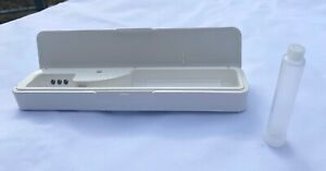 OzCozy Portable UV Toothbrush Sanitizer Holder Travel Case, USB Rechargeable