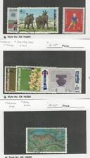Thailand, Postage Stamp, #712-3, 716-8, 722, 726 Used, 1974 Animal, Elephant