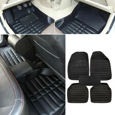 Universal Car Floor Mats Front & Rear FloorLiner All-Weather Waterproof Carpet (Fits: Hyundai Accent)