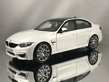 Norev BMW M3 (F80) 3 Series Competition Package 2016 Mineral White Model 1:18
