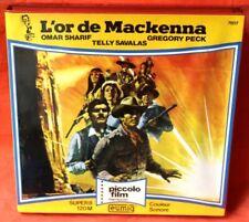 SUPER 8 120M - L'OR DE MACKENNA - Omar Sharif, Gregory Peck - BO Johnny Hallyday