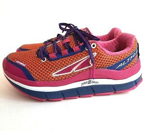 Altra Olympus Womens US 7 Zero Drop Trail Running Shoes Worn Once A2355-1 EUC