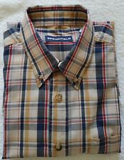 A Lovely SPRINGFIELD Multi Coloured 100% Cotton Short Sleeve Shirt (M)