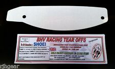 SHOEI,CWF-1,CWR-F,CLEAR,TEAR OFFS,PACK OF 30,FOR GENUINE RACE VISORS,BHV T008