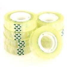 8pcs 15mm Width Clear Transparent Tape Sealing Packing Shipping Stationery
