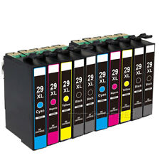 10-Pack 29XL Compatible Epson Expression Home XP-342 Ink Cartridges (NON OEM)