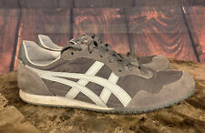 Asics Onitsuka Tiger Serrano Shoes Sneakers White Gray Men's Size 9 D109L