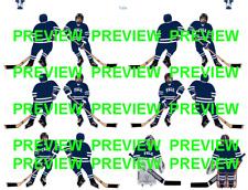 Coleco Table Hockey College Yale Blue Team Custom Decal Sheet