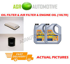 DIESEL OIL AIR FILTER KIT + LL 5W30 OIL FOR TOYOTA AVENSIS 2.0 116 BHP 2003-06
