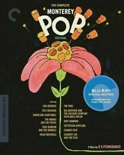 Criterion Collection Comp Monterey Pop Festival - Documentary Blu-ray