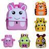 Fashion Cute Kid Toddler Backpack Kindergarten Schoolbag 3D Cartoon Animal Bag