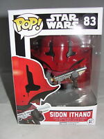 Funko Pop Star Wars Episode VII Force Awakens Sidon Ithano Vinyl Figure-New