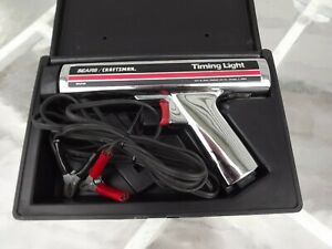 Vintage Sears Craftsman Inductive Timing Light  American Made USA 161.2134