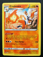Pokemon card Cinderace 034/202 Stage 2 RARE Fire Mint Sword&Shield Proxy card