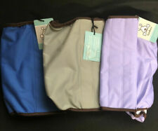 CUTEBONE Male Dog Diapers 3 Belly Band Size L - Blue, Purple, Gray Washable