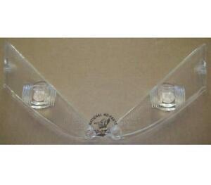Mopar REPRO 1961-62 Chrysler Park Turn Signal Lamp Lenses PAIR 2188432-3R