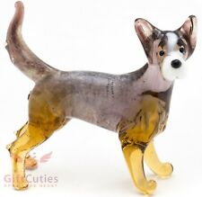 Art Blown Glass Figurine of the Australian Cattle Dog