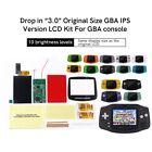 "3.0"" IPS Backlight LCD für Nintendo Game Boy Advance GBA No Need to Cut Shell"