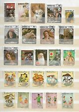 BURKINA FASO  - LOT OF 81  STAMPS -  3 IMAGES