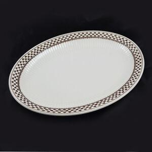 Adams Sharon English Ironstone / Ovale Platte Servierplatte / Oval Plate Platter