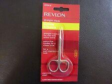 Revlon Straight Blade Cuticle Scissors - Brand New / Sealed