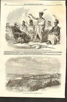 4/25/1857 #01-0062 ANTIQUE PRINT (CANADA) -  OTTAWA