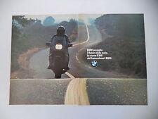 advertising Pubblicità 1983 MOTO BMW K100 K 100