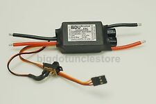 071: 50A 400W Brushed ESC W/Reverse, suit with 540-600 motor,2-4S lipo.RC 1:10
