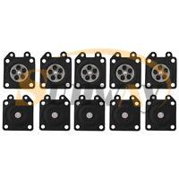 10x Carburateur Membrane Kit pour Walbro WA WT Carb Stihl Partner Echo Husqvarna
