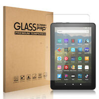 For Amazon Kindle Fire HD 8/8 Plus 10th Gen 2020 Tempered Glass Screen Protector